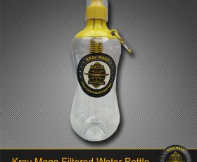 Krav Maga Filtered Water Bottle BPA-Free