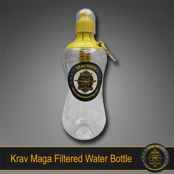 Krav Maga Filtered Water Bottle BPA-Free